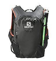 Salomon Skin Pro 15 Set - Trailrunning-Rucksack 15 L, Black/Red