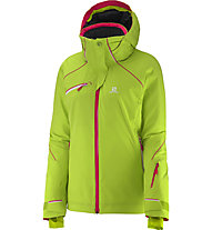 Salomon Speed Jacket W Giacca da sci (2015), Granny Green