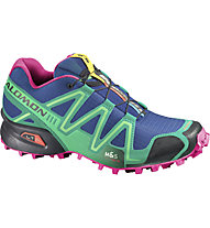 Salomon Speedcross 3 W, Blue/Emerald