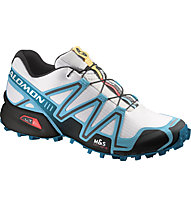 Salomon Speedcross 3, White/Blue/Black