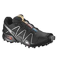 Salomon Speedcross 3 - scarpa trail running donna, Black/Silver