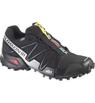Salomon Speedcross 3 GTX, Black/Silver Metallic-X