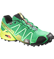 Salomon Speedcross 3 GTX scarpa trail running, Real Green/Black