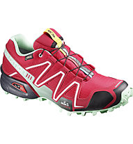 Salomon Speedcross 3 GTX Woman Scarpa Trail Running Donna, Pink/Green