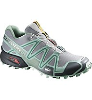 Salomon Speedcross 3 - Trailrunningschuhe - Damen, Light Onix/Topaz Blue/Dark Cloud
