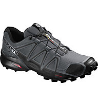Salomon Speedcross 4 - Trailrunningschuh - Herren, Black/Grey