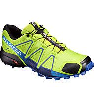 Salomon Speedcross 4 - Trailrunningschuh - Herren, Green/Blue