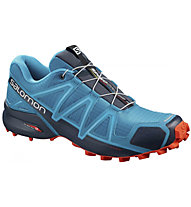 Salomon Speedcross 4 - scarpe trail running - uomo, Light Blue