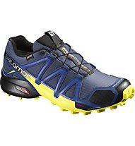 Salomon Speedcross 4 GTX - Trail Runningschuh - Herren, Blue/Yellow