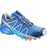 Salomon Speedcross 4 GTX - Trailrunningschuh - Herren, Blue/White