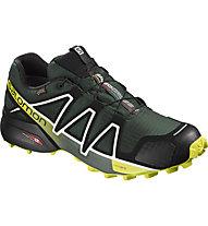 Salomon Speedcross 4 GTX - scarpe trail running GORE-TEX - uomo, Green/Yellow