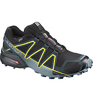 Salomon Speedcross 4 GTX - scarpe trail running - uomo, Black