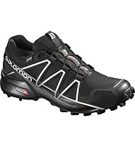 Salomon Speedcross 4 GTX Scarpa Trail Running, Black/Grey