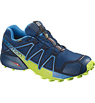 Salomon Speedcross 4 GTX - scarpe trail running - uomo, Blue