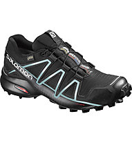 Salomon Speedcross 4 GTX - Traillaufschuh - Damen, Black