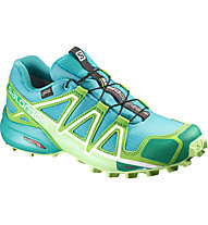 Salomon Speedcross 4 GORE-TEX - Trailrunningschuh - Damen, Blue/Green