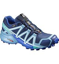 Salomon Speedcross 4 GTX Scarpa Trail Running Donna, Blue