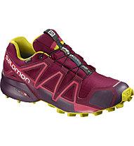 Salomon Speedcross 4 GTX - scarpe trail running - donna, Red