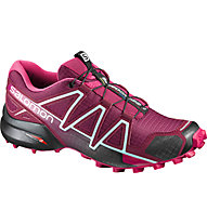 Salomon Speedcross 4 - Trailrunningschuh - Damen, Fuxia