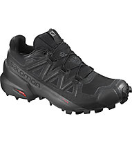 Salomon Speedcross 5 GTX - scarpe trail running - donna, Black