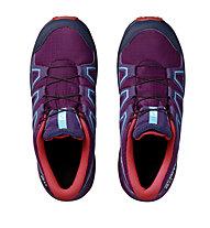 Salomon Speedcross CSWP - scarpe da trekking - bambino, Violet