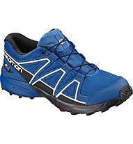 Salomon Speedcross CSWP - scarpa trail running - bambino, Blue