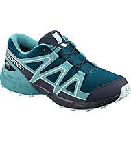 Salomon Speedcross CSWP Junior - scarpa da trekking e trailrunning - bambino, Light Blue
