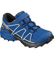 Salomon Speedcross CSWP K -  scarpe trail running - bambino, Blue