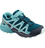 Salomon Speedcross CSWP Kids - scarpe da trekking e trailrunning - bambino, Light Blue