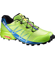 Salomon Speedcross Pro - scarpa trail running, Green/Blue