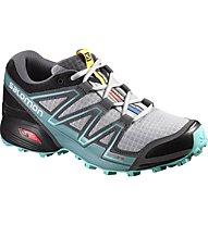 Salomon Speedcross Vario Trailrunning Laufschuh Damen, Grey/Light Blue