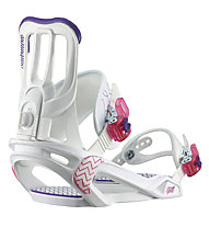Salomon Spell Snowboardbindung Damen, White