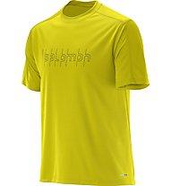 Salomon Stroll Plus Tee - Funktionsshirt, Yellow