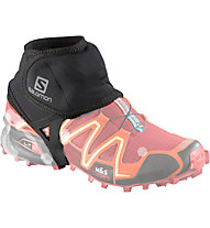 Salomon Trail Gaiters Low - Ghette trail running, Black