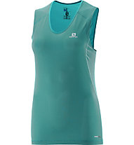 Salomon Trail Runner SL-Laufshirt Damen, Blue