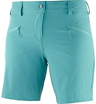 Salomon Wayfarer LT Short W - pantaloni corti trekking - donna, Light Blue