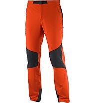 Salomon Wayfarer Mountain Pant M Pantaloni lunghi arrampicata, Orange/Black