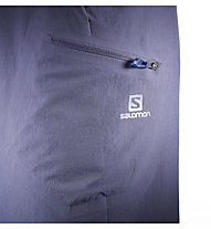 Salomon Wayfarer Short Damen, Nightshade Grey