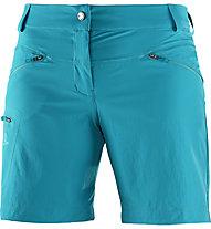 Salomon Wayfarer Short Damen Wander- und Trekkinghose kurz, Light blue