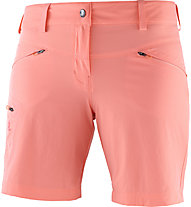 Salomon Wayfarer Short W - pantaloni corti trekking - donna, Orange