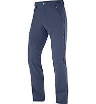 Salomon Wayfarer Straight P - pantaloni trekking - uomo, Blue