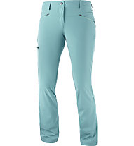 Salomon Wayfarer Straight Pant W - pantaloni trekking - donna, Light Blue
