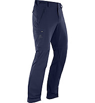 Salomon Wayfarer Straight - Zip-Off-Trekkinghose - Herren, Blue