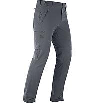 Salomon Wayfarer Straight Zip - Zip-Off-Herren-Trekkinghose, Grey