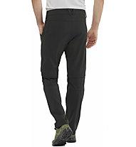Salomon Wayfarer Zip-Off - pantaloni trekking - uomo, Black