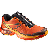 Salomon Wings Pro 2 - Trail Running Schuhe, Tomato Red/Clementine-X