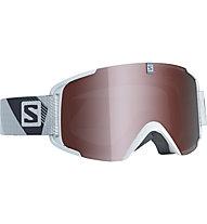 Salomon X-View - maschera sci, White