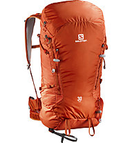 Salomon X Alp 30 - Zaino alpinismo, Orange/Tomato Red