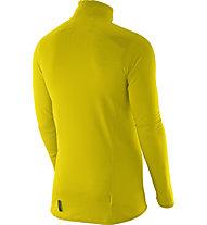 Salomon S-Lab X Alp HZ maglia in pile, Alpha Yellow