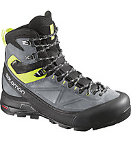 Salomon X Alp MTN GORE-TEX, Black/Pearl/Gecko Green